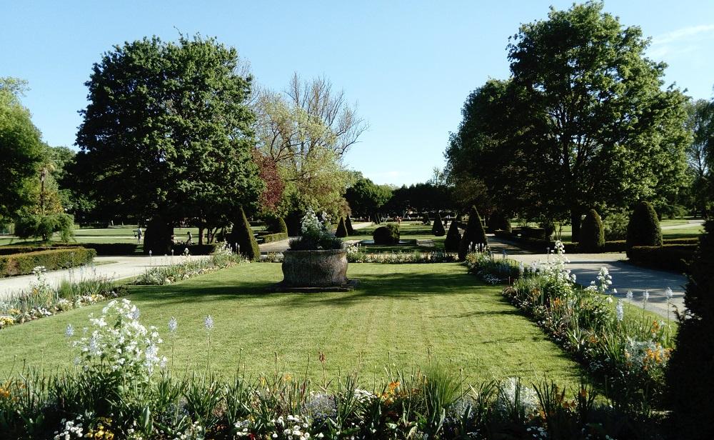 jardin public de Saintes