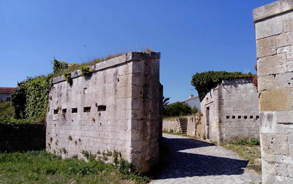 Fort de la rade île d'aix