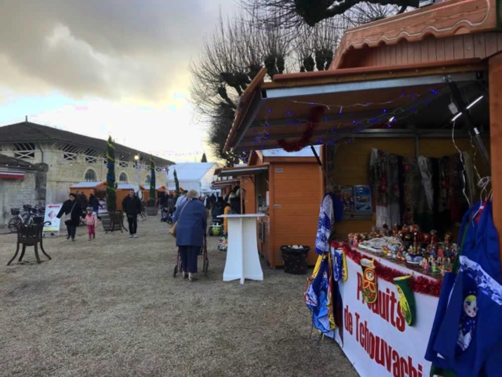 marché de noel de saintes