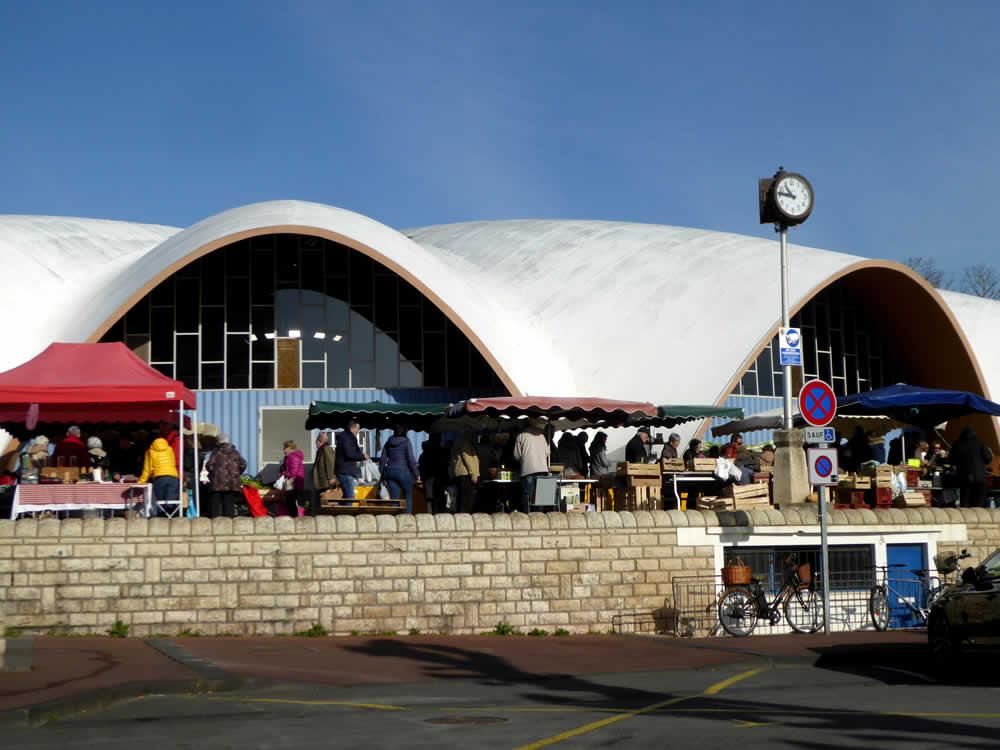 marché central de royan