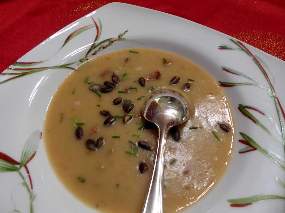 soupe aux mogettes
