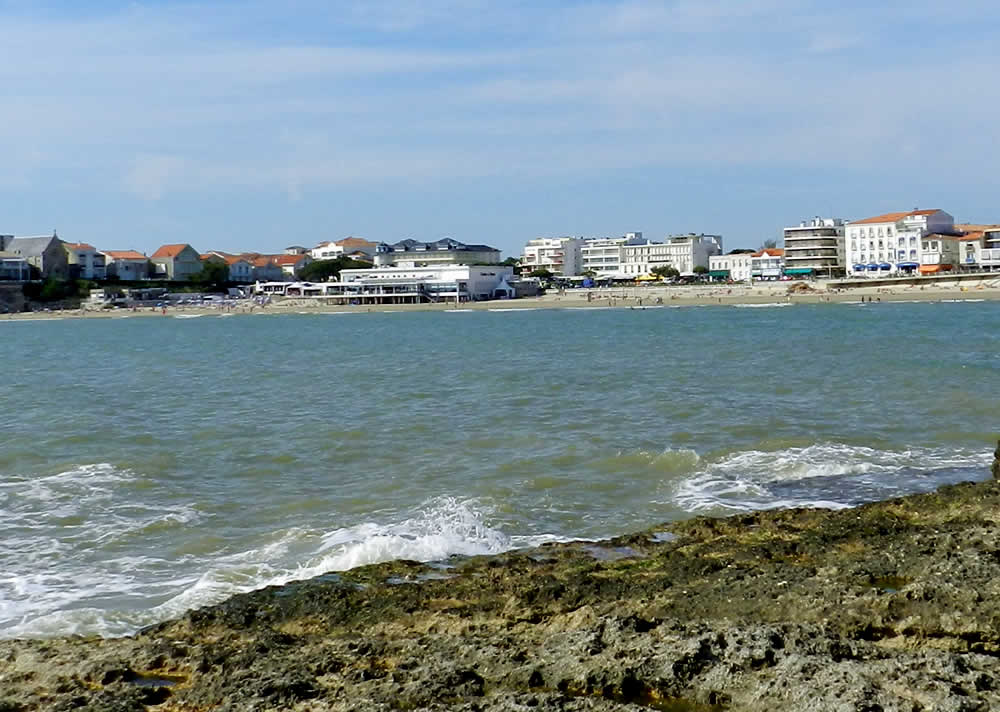 plage de pontaillac royan