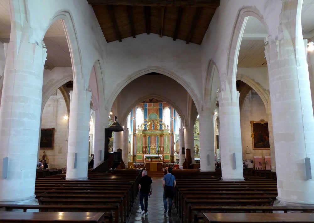 intérieur église saint martin de ré