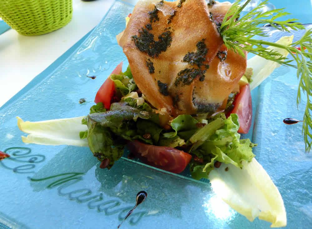 restaurant le marais mornac-sur-seudre