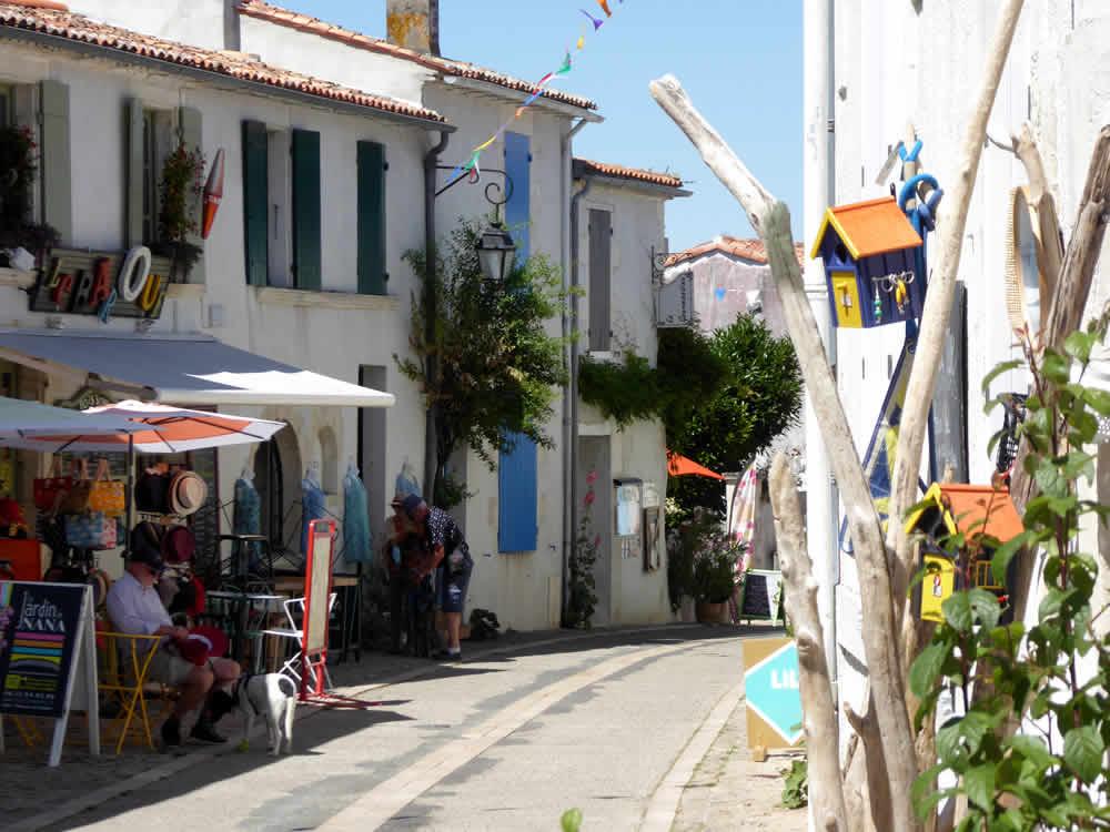 rue du port à mornac-sur-seudre
