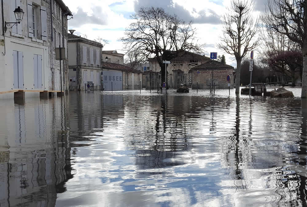 inondations saintes