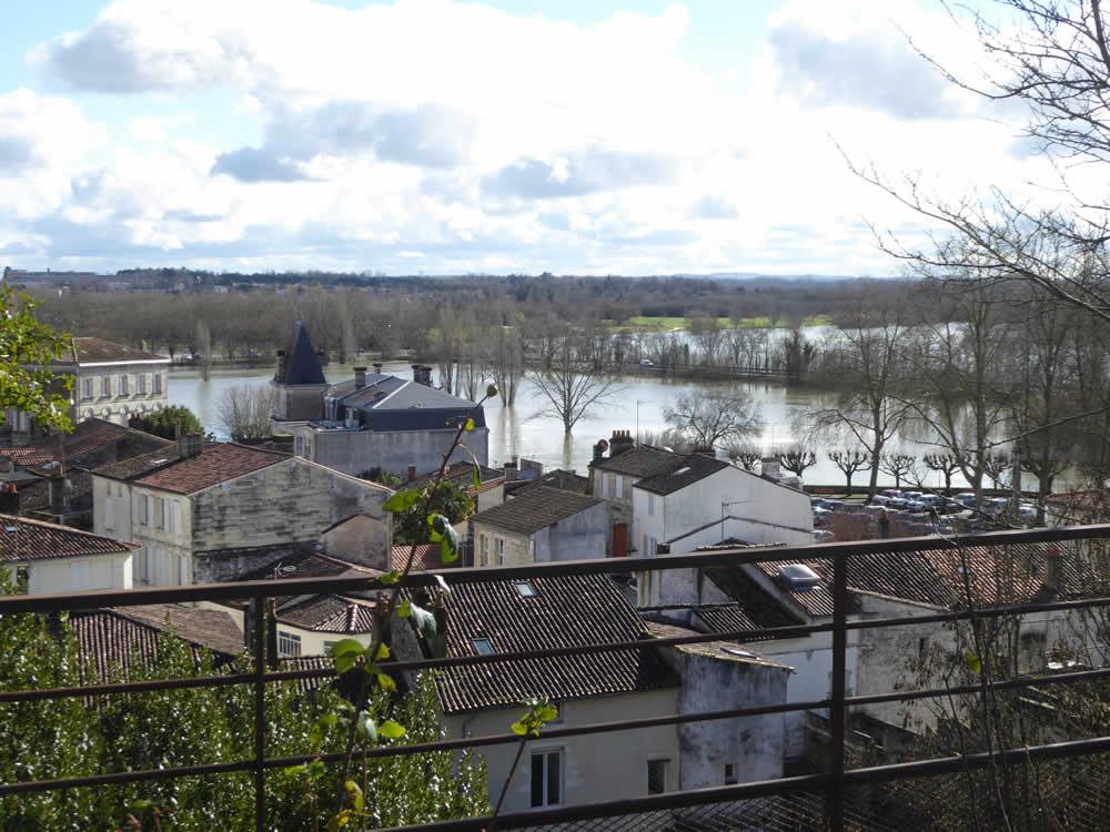 saintes inondations